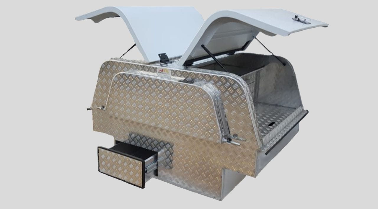 Aluminium Canopies for Bakkies