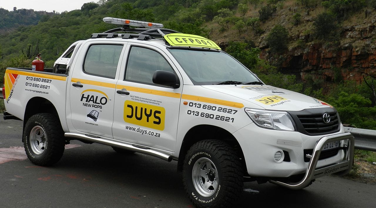 HALO™ Rollover Occupant Protection Systems (ROPS)