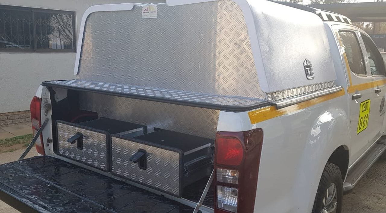 Customised Technician Field Service Toolbox Canopies