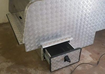 Aluminium Technician Toolbox Canopy
