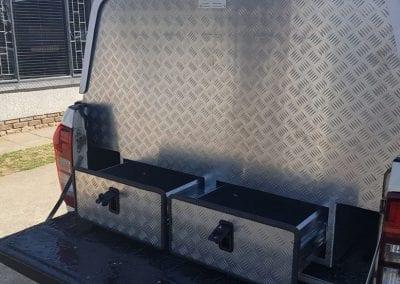 Aluminium Technician Toolbox Canopy 6