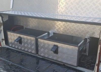 Aluminium Technician Toolbox Canopy 9