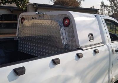 Aluminium Technician Toolbox Half Canopy 4