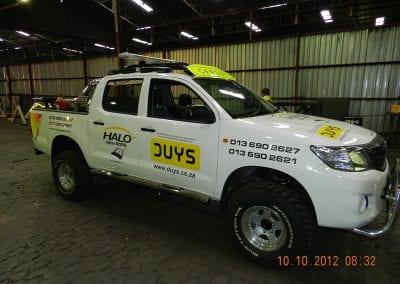 Hilux D4D Double Cab Halo ROPS