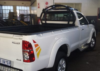 Hilux D4D Single Cab Halo ROPS