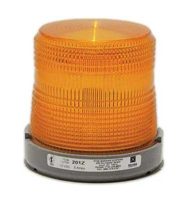 Single LED Flashing Amber Strobe Light