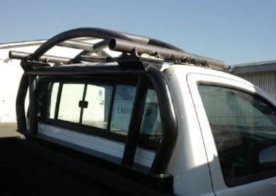 Single cab HALO ROPS