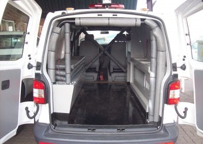 VW Transporter Ambulance Internal ROPS
